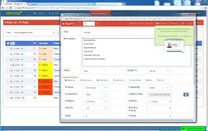 Bug Tracking System - The only Bug Tracking with One Click Screenshots